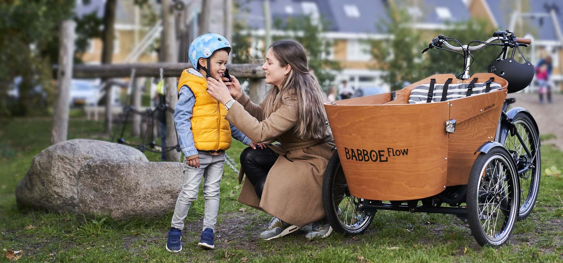 vélo cargo á assistance électrique