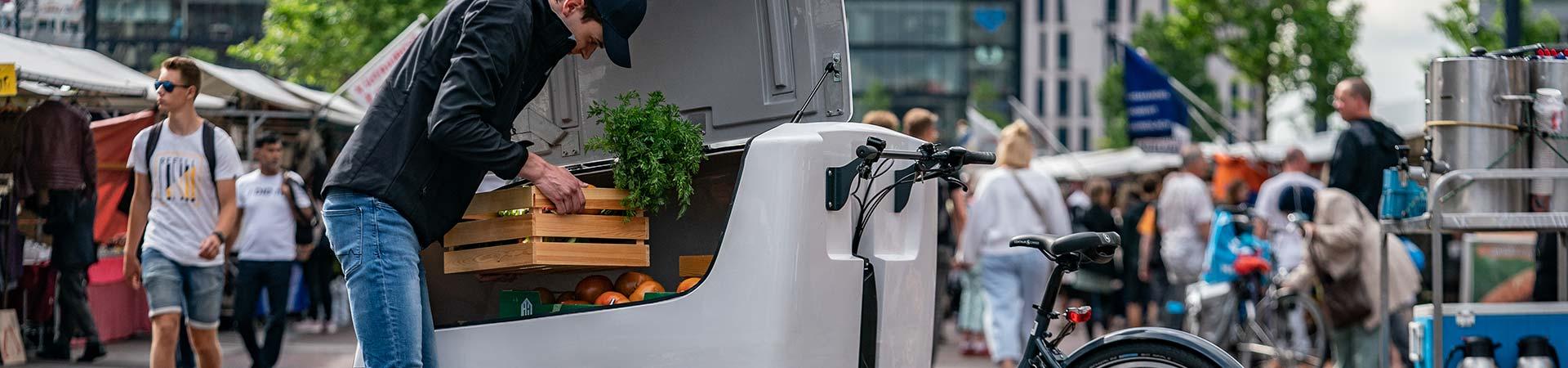 Vélos cargo professionnel