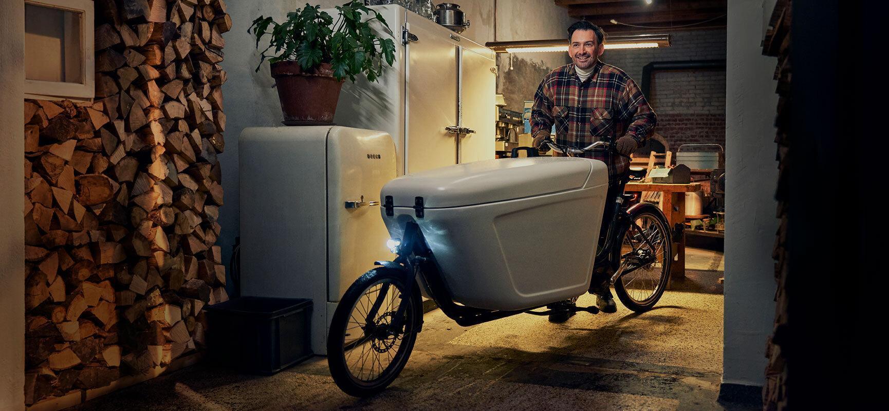 Choisissez le vélo cargo professionnel parfait