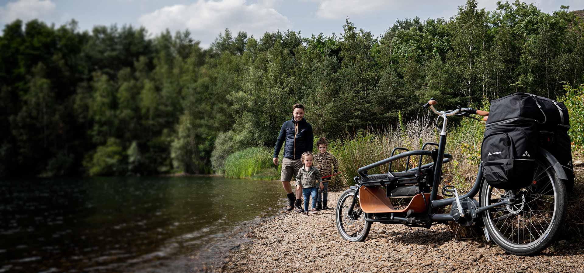 Vélo familial Babboe Slim