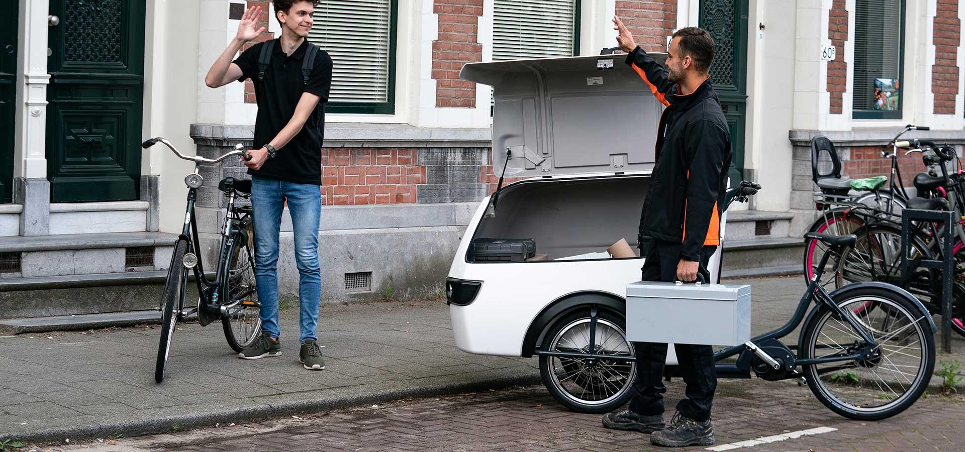 Livraison triporteur Trike XL