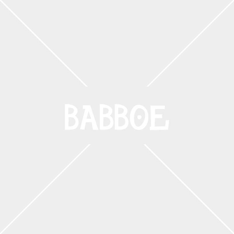 Tente protection solaire rouge | Babboe Big