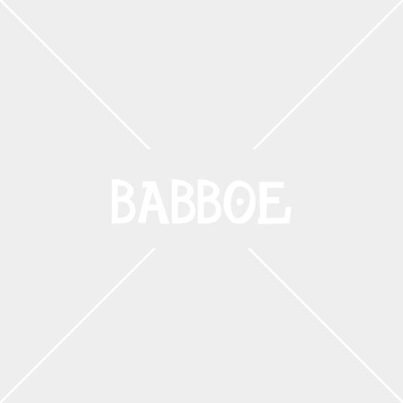 Coussin Babboe City/Curve-Rouge à pois blancs