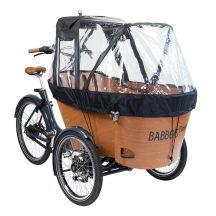 Babboe Tente de protection de plui Carve/Flow noir