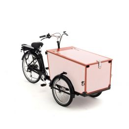 Babboe vélo cargo autocollants Pro Trike bois - 3 côtés + couvercle