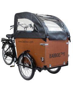 Babboe Tente de protection de plui Dog noir