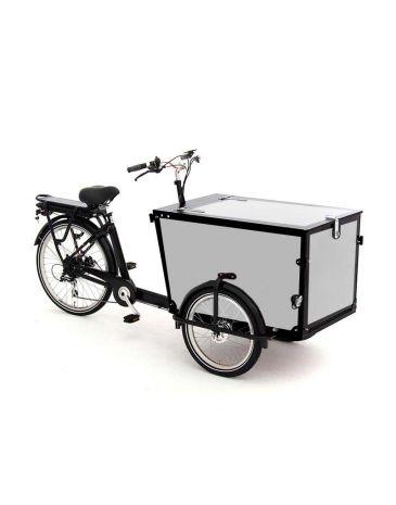 Babboe vélo cargo autocollants Pro Trike noir - 3 côtés + couvercle