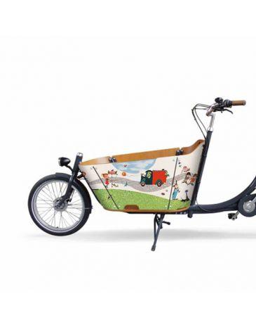 Fiep Westendorp vélo cargo autocollants City Fiep Westendorp