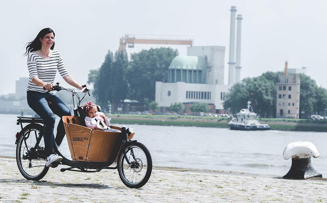 Vélo de ville très maniable