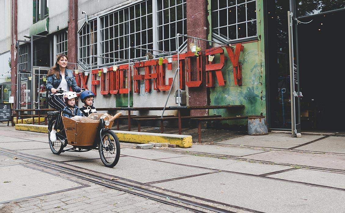 Maniable vélo cargo